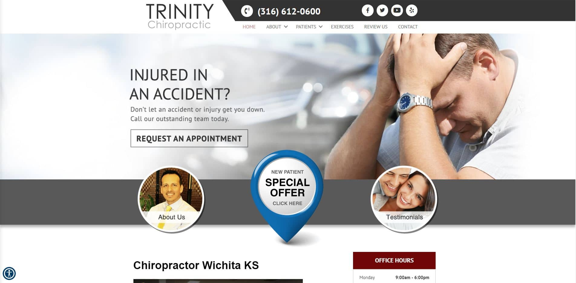 Chiropractor in Wichita