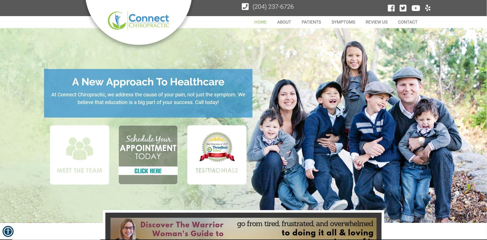 Chiropractor in Winnipeg