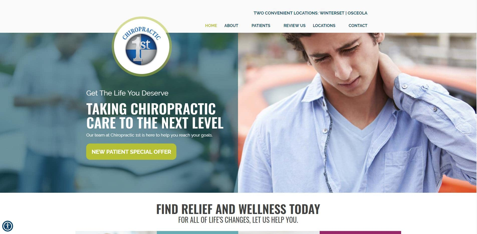 Chiropractor in Winterset