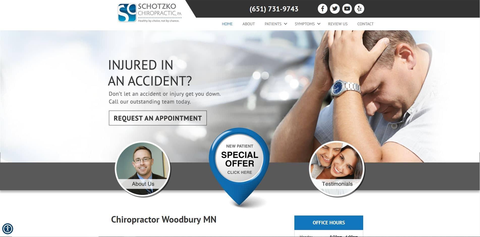 Chiropractor in Woodbury