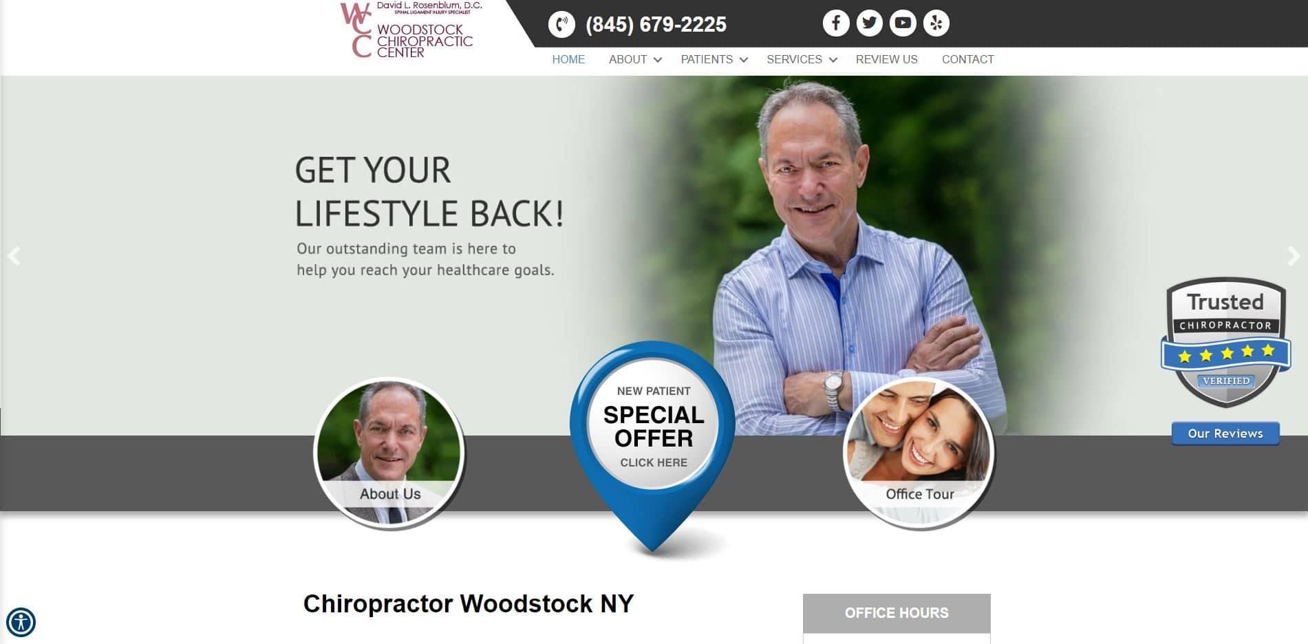 Chiropractor in Woodstock