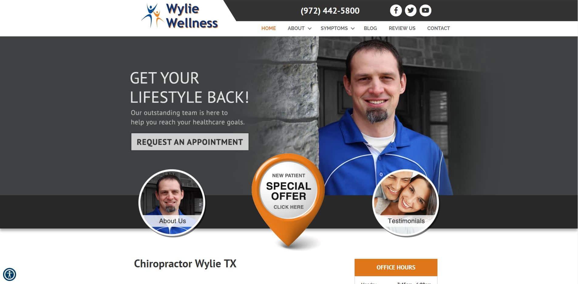 Chiropractor in Wylie
