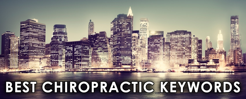 chiropractic keywords